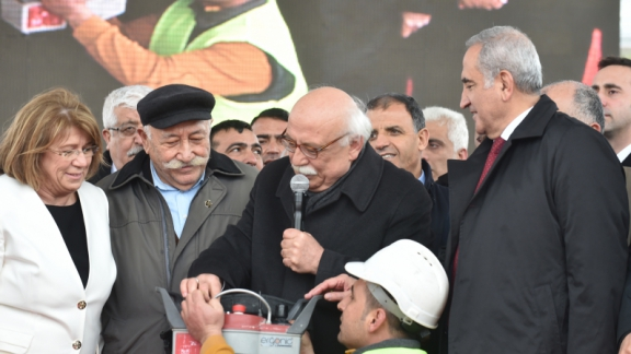 Minister Avcı lays the foundation for Hacı Bektaş Veli Anatolian High School